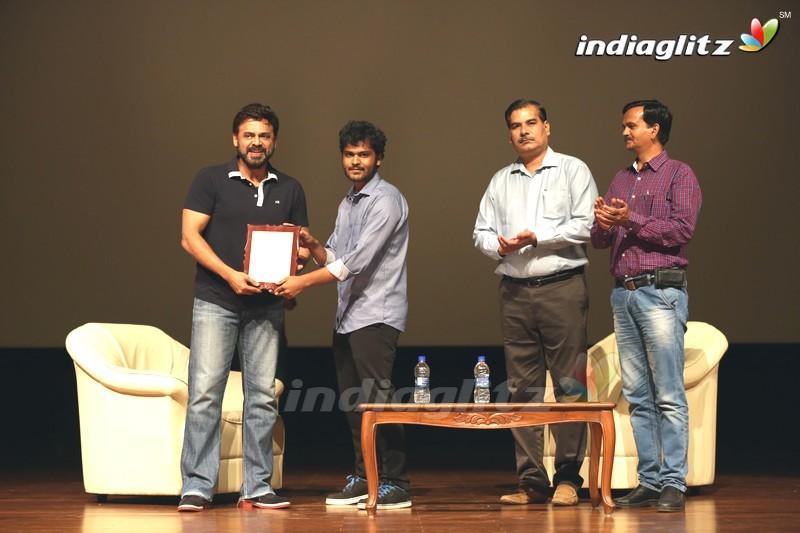 Venkatesh At BITS Pilani, Hyderabad Campus