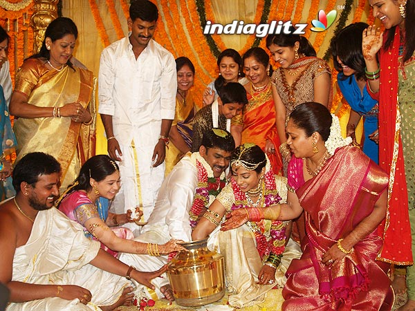 Sriya reddy wedding