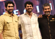 Surprise press meet: Rajamouli, Prabhas, Rana to speak!