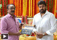 Chiranjeevi's 150th Film Launched in Style
