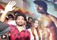 'ISM' Team At Bhramaramba Theater