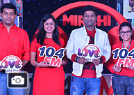 Devi Sri Prasad Launches Mirchi Love 104 FM