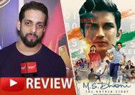 Watch 'MS Dhoni The Untold Story' Review by Salil Acharya