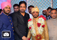 Celebs At Syed Ismail Ali's Daughter Tasleem wedding