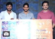 Akhil, Naga Chaitanya Launches Nagarjuna's Postal Stamp