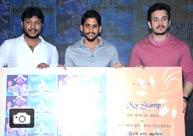 Akhil, Naga Chaitanya Launches Nagarjuna's Postal Stamp