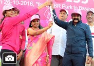 Balakrishna, Kavitha & Lakshmi Manchu at Breast Cancer Awareness Walk