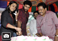 'Oka Manasu' Success Celebrations at Chiranjeevi Blood Bank