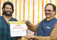 Prabhas' film launched amid happiest moment