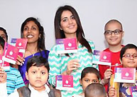 Raashi Khanna @ Rainbow Children's Hospital