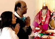 Rajini visits Ashram: Fans are super happy