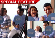 Kajal Aggarwal & Randeep Hood caught playful promoting 'Do Lafzon Ki Kahaani'