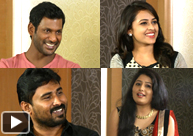 Vishal And Sri Divya`s Hilarious Interview