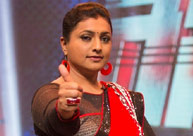 Roja's 'racha rambola' time at 'Rachabanda'