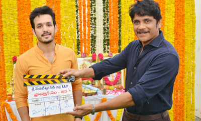 Akhil- Venky Atluri's New Movie Launched