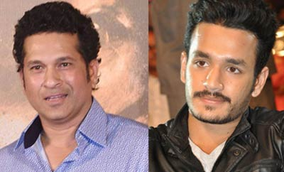 The wait is over, Sachin to Akhil