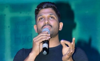 Bunny's speech at 'Naa Peru Surya' event