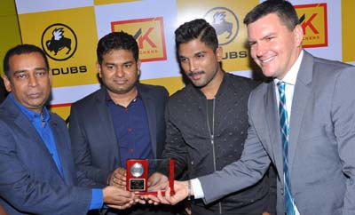 Allu Arjun Launches Buffalo Wild Wings Restaurant