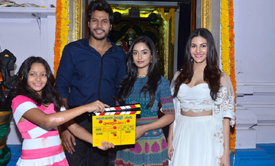 Mahesh Babu's Sister Manjula - Sundeep Kishan Movie Launch