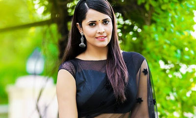 Mind your life, Anasuya tells troll