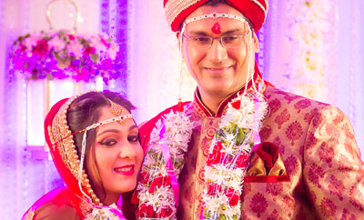 Rasna girl Ankita ties the knot