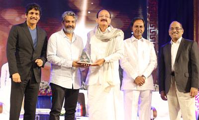 ANR National Award 2017 Presented To SS Rajamouli