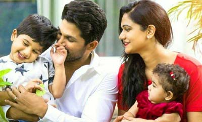 Allu Arjun's latest family man moment out