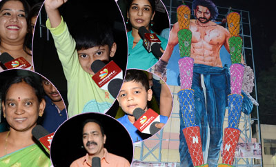 'Baahubali 2' Fans Hungama @ Theatres