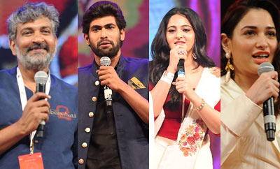 'Baahubali-2' event: Grand, grateful, emotional