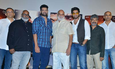 'Baahubali 2' Trailer Launch