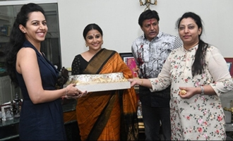 Balakrishna hosts Vidya Balan, family receives warmly