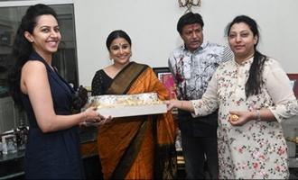 Balakrishna hosts Vidya Balan, family receives warmly