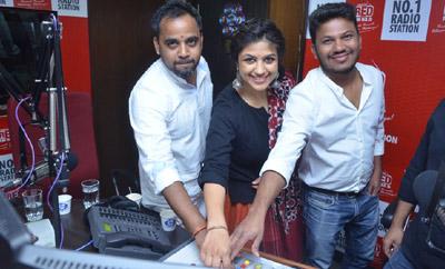 'Babu Baga Busy' 3rd Song Launch @ RED FM