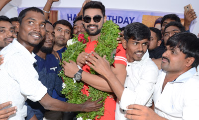 Bellamkonda Srinivas Birthday Celebrations