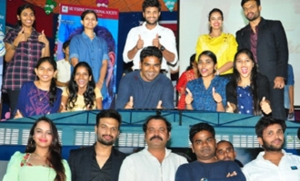 'Brand Babu' Promotions at Bhimavaram and Rajahmundry Colleges