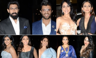 Celebs @ 65th Jio Filmfare Awards South 2018