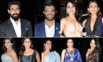 Celebs @ 65th Jio Filmfare Awards South 2018