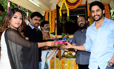 Naga Chaitanya - Maruthi Film Launched