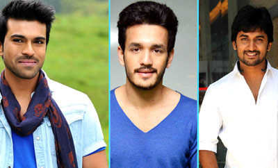 Will it be Charan Vs Nani Vs Akhil?