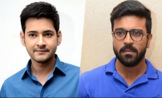 Mahesh, Charan post for their friend