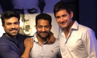 Mahesh, Charan, NTR in one raw, real pic