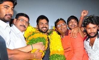 'Chinna Babu' Team Tour @ Eluru And Vijaywada