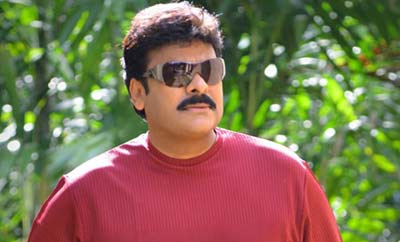 Chiranjeevi does test shoot