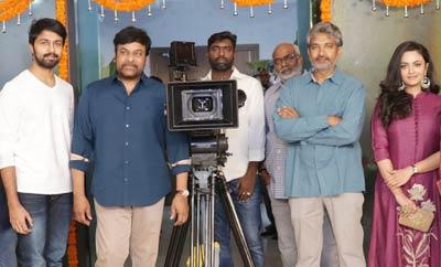 Chiranjeevi Son In Law Kalyan Dev's Movie Launch