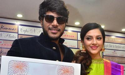 Sundeep Kishan & Mehreen @ Designer Shravan Kumar Diwali Collections Show