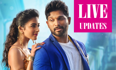 Duvvada Jagannadham Review Live Updates