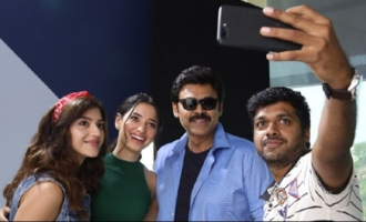 'F2': Anil Ravipudi raises a toast for his stars