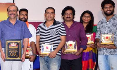 Film Critics Association Felicitates Shatamanam Bhavati & Pelli Choopulu Teams