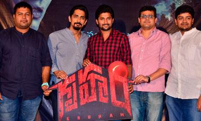 Siddarth's 'Gruham' Trailer Launch