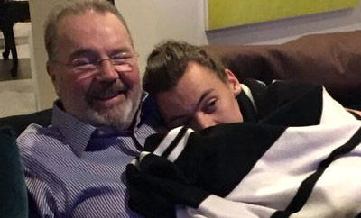 One Direction pays tribute to Harry Styles' father Robin Twist